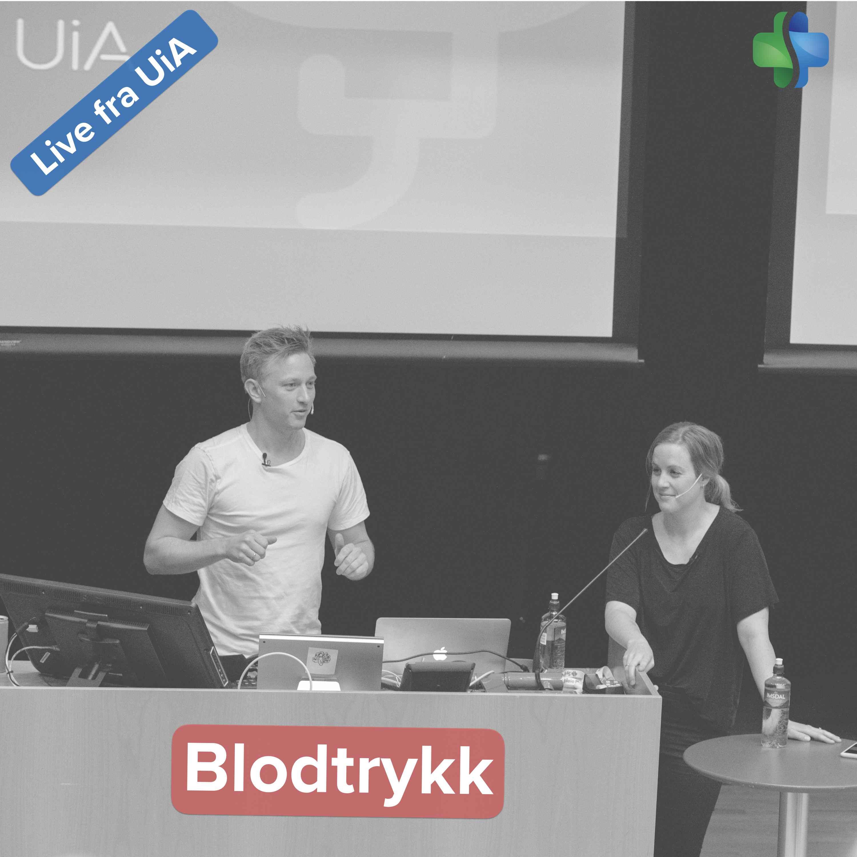 Blodtrykk og blodtrykksrefleks (forelesning ved Universitetet i Agder)