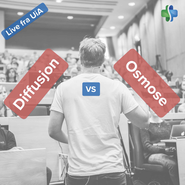 Diffusjon og osmose (forelesning ved Universitetet i Agder)