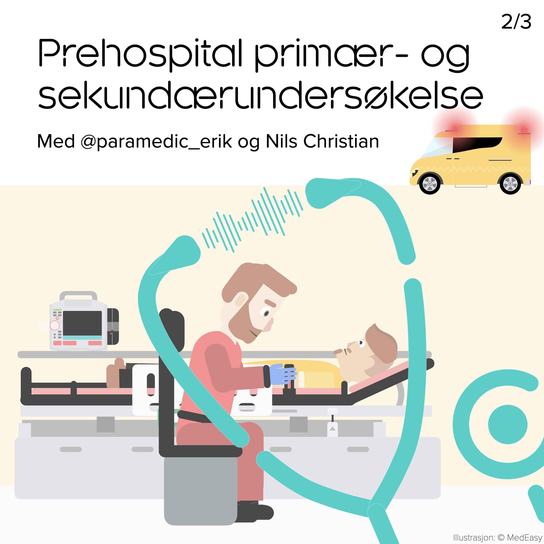 Prehospital primær- og sekundærundersøkelse